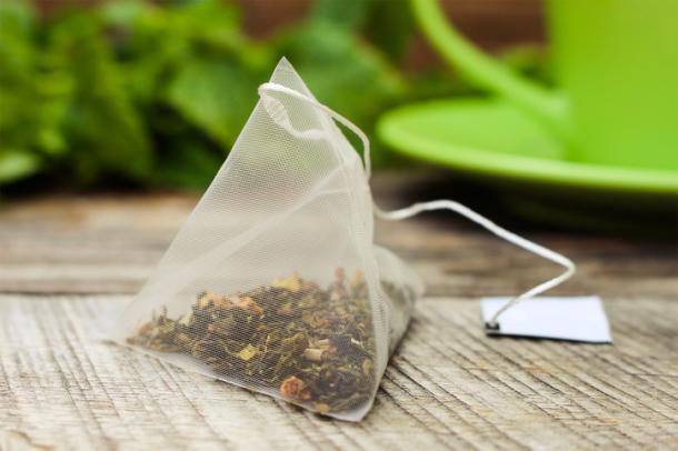 Les feuilles de thé